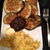 Eggplant and Scrambled Eggs