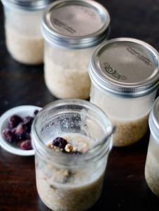 Make Ahead Oatmeal in Jars