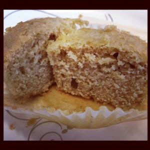 Gluten & Dairy Free Vanilla Cupcakes Texture