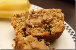 Vegan Carrot Raisin Bran Muffins (She Bakes!: Photo and Recipe)