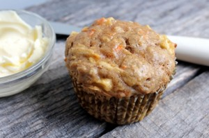 Apple Bran Muffins (The Kitchenarian: Photo and Recipe)