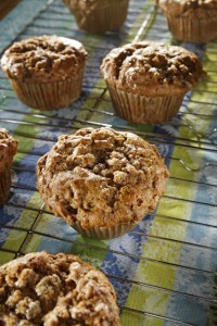 Vegan Bran Muffin (Chubby Vegetarian: Photo & Recipe)