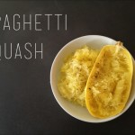 Spaghetti Squash- A simple fall meal