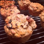 Carrot Raisin Walnut Muffins (Dairy Free)