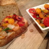 Fresh Heirloom Tomato Bruschetta