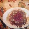 The Gluten-free Gobble Waffle // Krusteaz Blogger Bake-Off